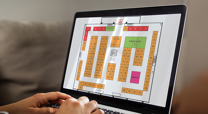 Exhibit Sales & Floor Plan Management Image